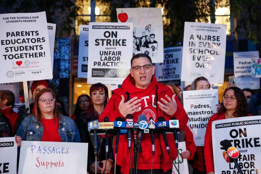 Chicago teachers' strike takes toll on parents