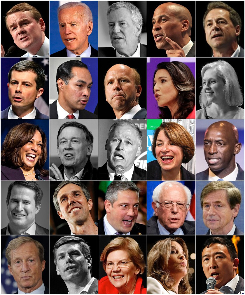 Who are the Democratic candidates for president?