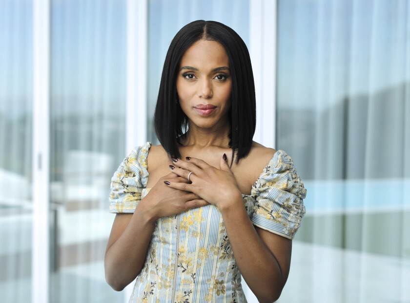 Kerry Washington on 'American Son' and her post-'Scandal' interracial relationships onscreen