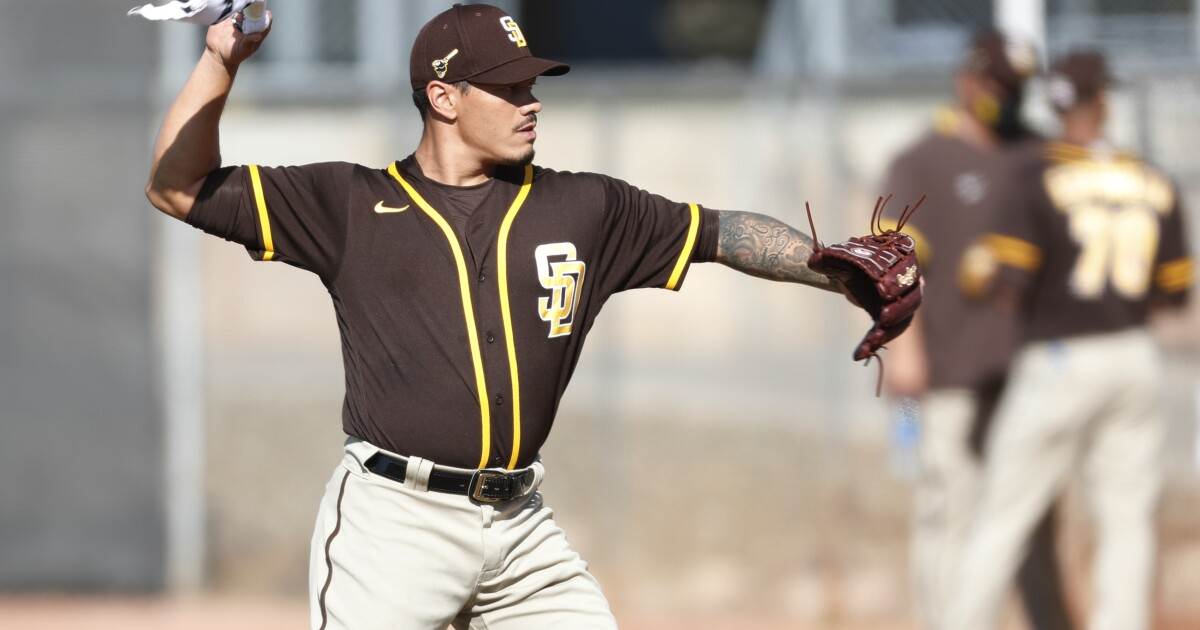 Padres notes: Kela at home with Padres dogs, misfits; Lamet strong again
