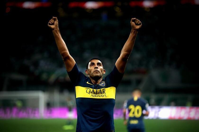 En la imagen, el jugador Ramón Ábila de Boca Juniors . EFE/Archivo