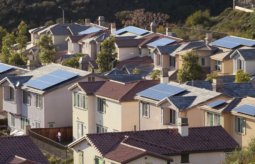 Solar Panels in San Elijo Hills
