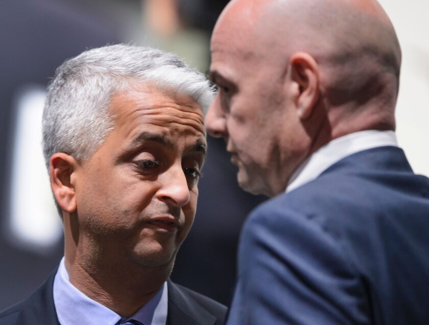 Sunil Gulati pulls some serious strings to help soccer in the U.S.