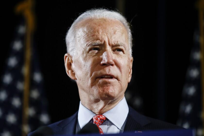Election 2020 Joe Biden VP Search