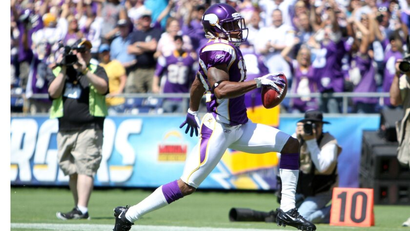 Underappreciated Percy Harvin is a game-changer for the Vikings.