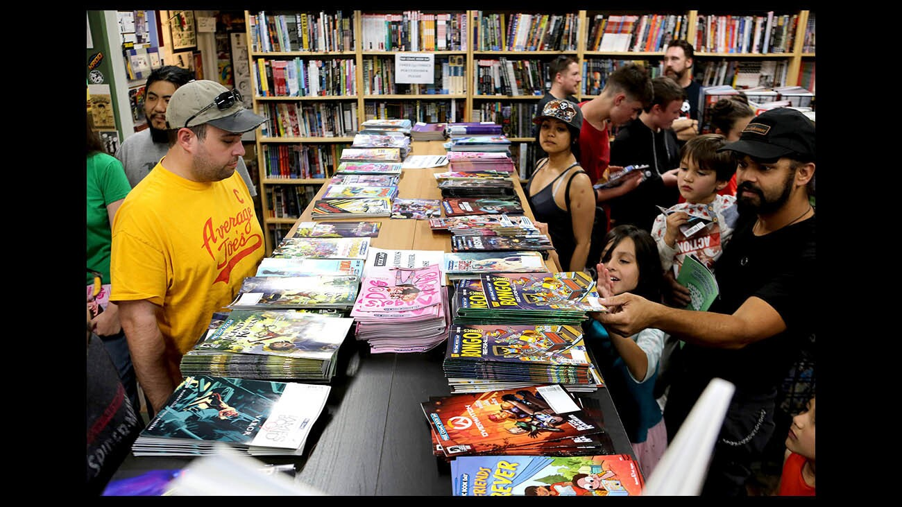 Photo Gallery: Free Comic Book Day at House of Secrets Comics & Toys