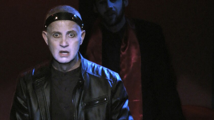 """Jack Stehlin as Macbeth in New American Theatre's """"Macbeth: Revisited."""""""