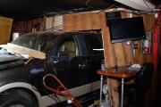 Patrons suffer cuts and bruises after truck crashes into bar