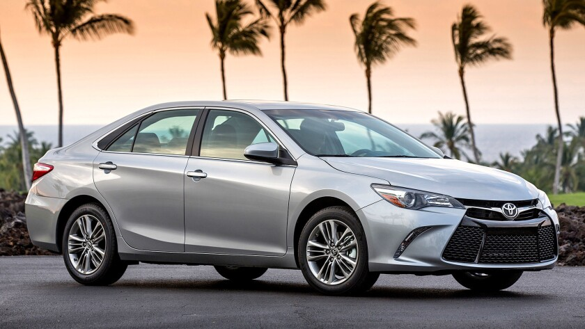 The Toyota Camry received the least number of complaints by owners tracked in the latest J.D. Power Vehicle Reliability Study.