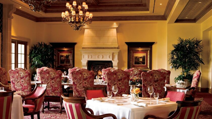 Addison dining room. Grand Del Mar photo