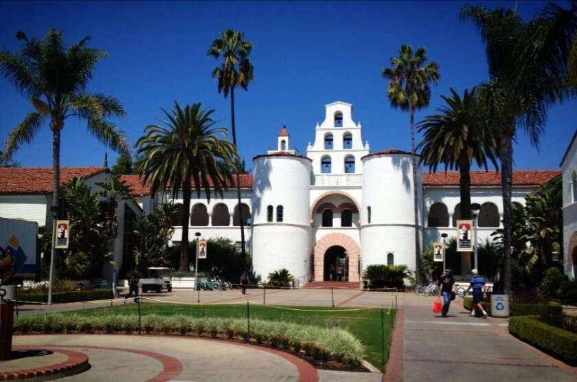 Classes at San Diego State University will move online this fall, as will those at the other 22 campuses in the California State University system, including Cal State San Marcos