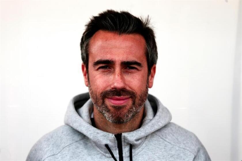 El seleccionador español Jorge Vilda Rodríguez reacciona durante el encuentro España-Holanda perteneciente a la Copa Algarve femenina, este en el estadio Bela Vista, en Perchal (Portugal), el pasado 27 de febrero. EFE