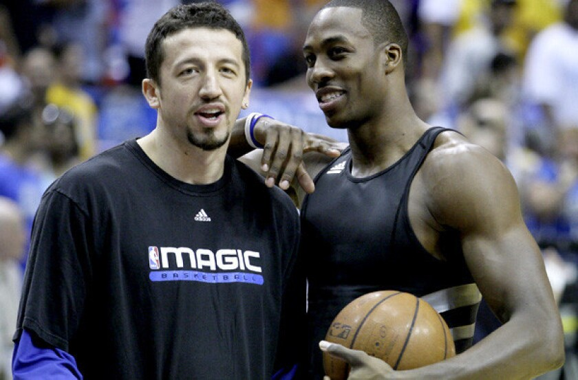 Hedo Turkoglu, Dwight Howard