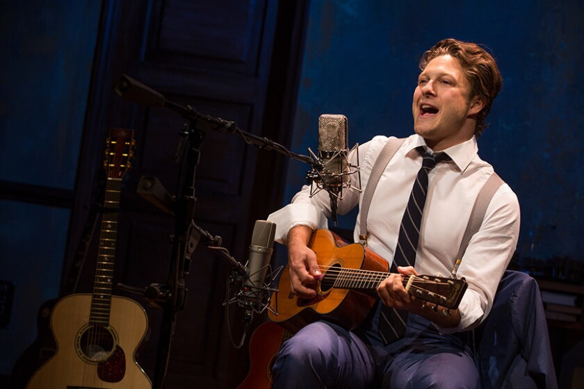 """Benjamin Scheuer wrote, composed and stars in """"The Lion"""" at the Old Globe Theatre."""
