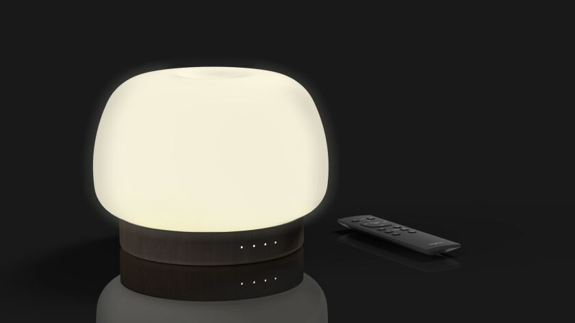 The Zoe diffuser/ambient light can now use specially blended aroma-therapy oils.