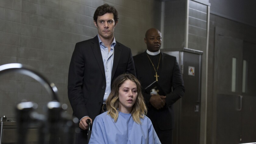 "(L-R)- Adam Brody and Amanda Crew in a scene from ""ISABELLE."" Credit: Vertical Entertainment"
