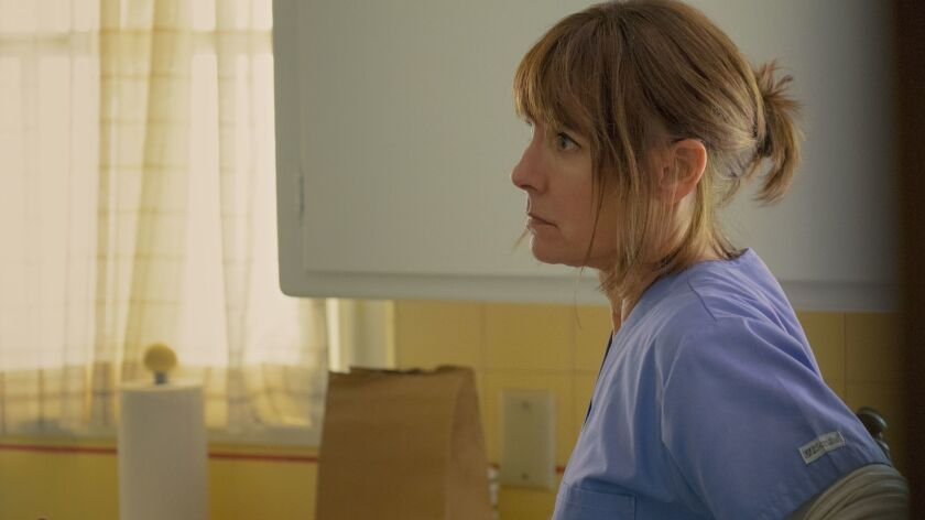 """Laurie Metcalf in """"Lady Bird."""" On Tuesday the actress earned her first Oscar nomination."""