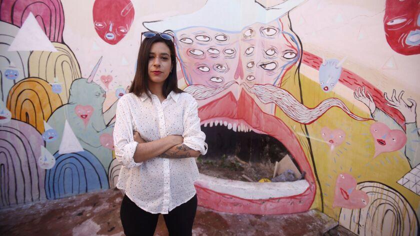 Artist Paola Villasenor, aka Panca.