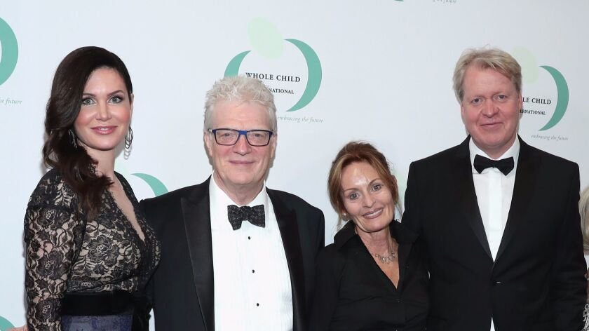 Whole Child International's Inaugural Gala In Los Angeles Hosted By The Earl And Countess Spencer - Red Carpet