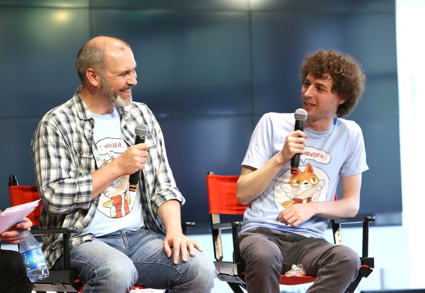 "YouTube Star Stampy Cat Celebrates ""Wonder Quest"" Launch At YouTube Space LA"