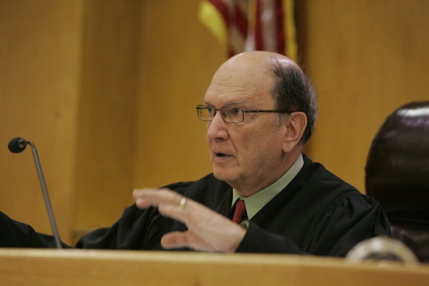 East County Superior Court Judge Herbert Exarhos [Union-Tribune file]