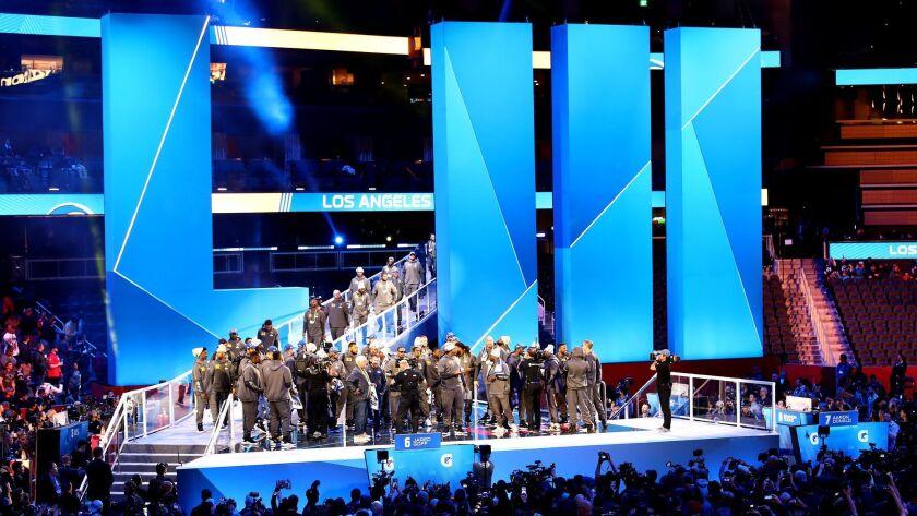 Super Bowl LIII Opening Night Fueled by Gatorade
