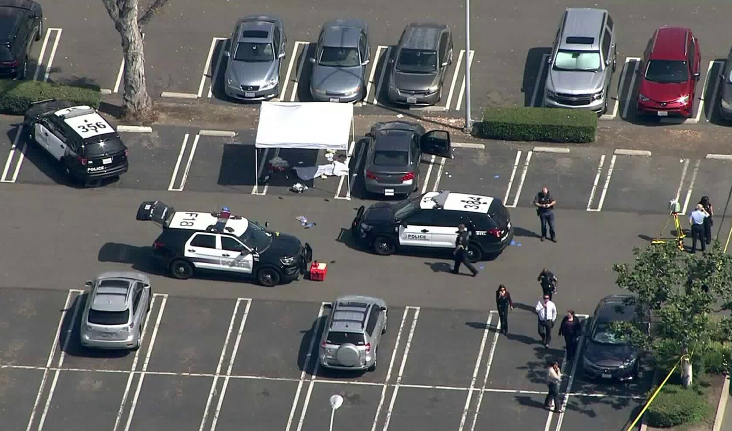 Cal State Fullerton faculty member killed on campus; suspect still at large