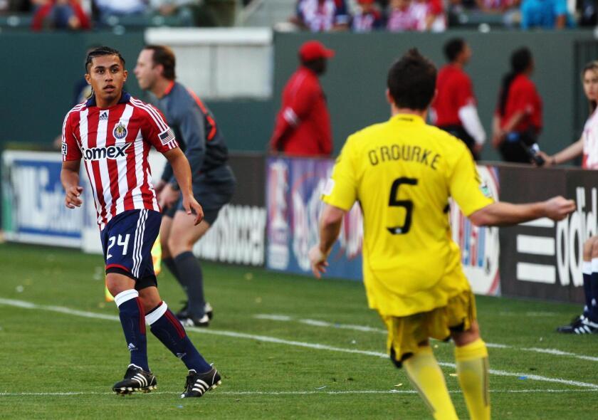 Gerson Mayén debutó en las desaparecidas Chivas USA en 2008.