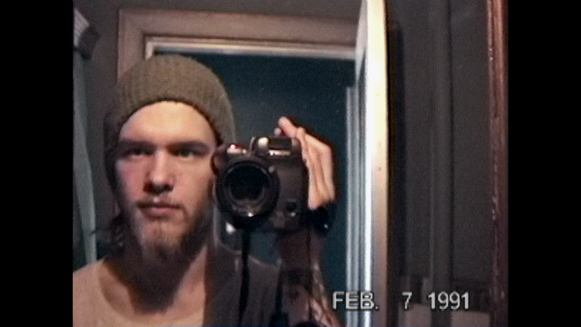"Shannon Hoon in the documentary ""All I Can Say."""