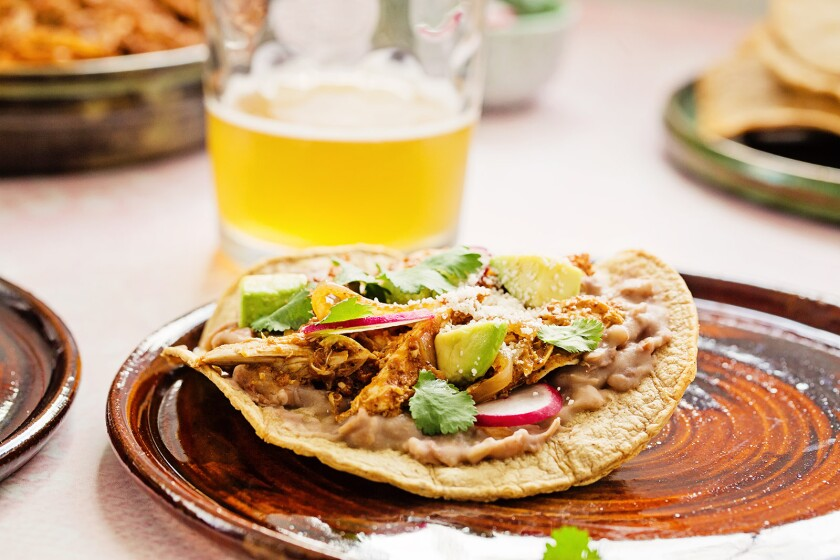 Chicken Tinga from Anita L. Arambula's Confessions of a Foodie