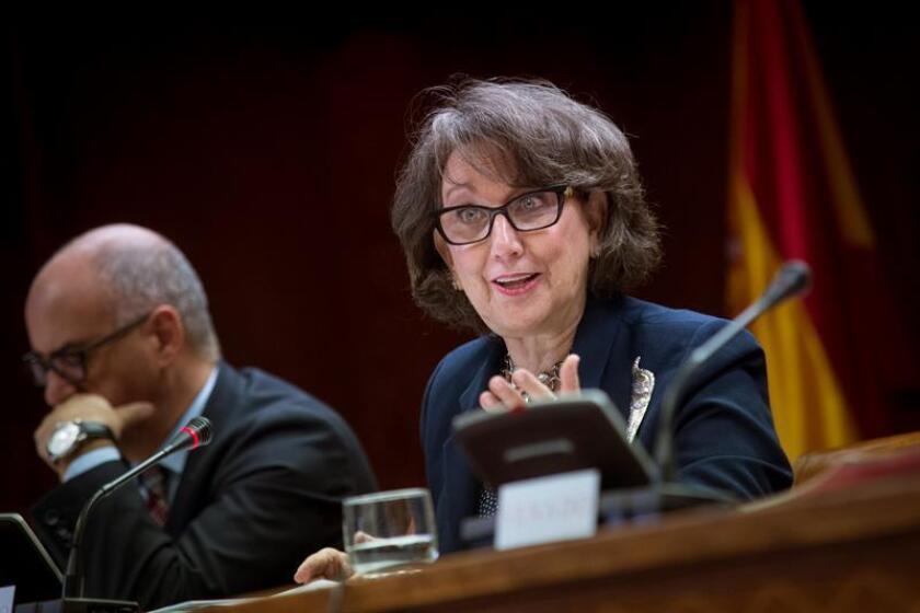 La secretaria general de la Secretaría General Iberoamericana, Rebeca Grynspan. EFE/Archivo