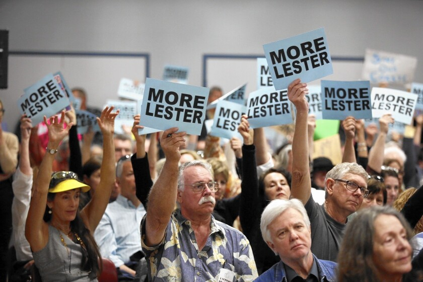Overwhelming public support for Executive Director Charles Lester wasn't enough to stop Coastal Commissioners from firing him.