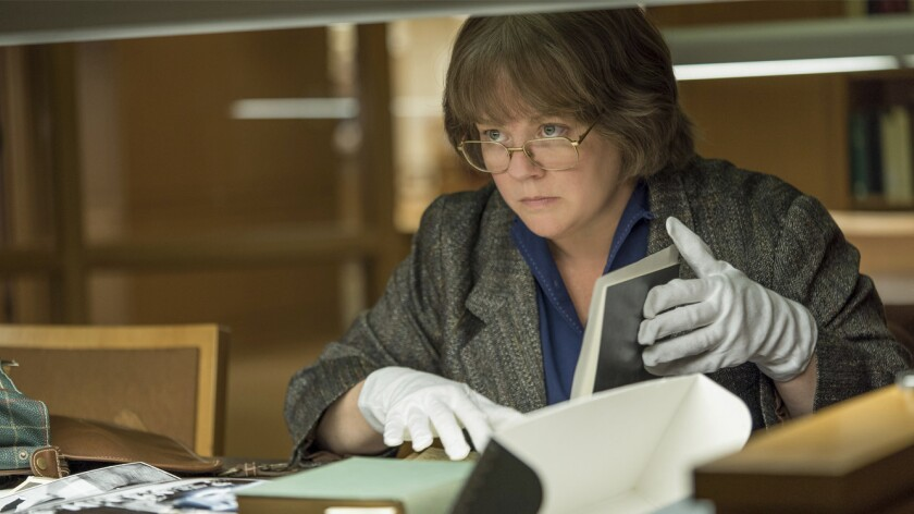 """This image released by Fox Searchlight Pictures shows Melissa McCarthy in a scene from """"Can You Ever"""