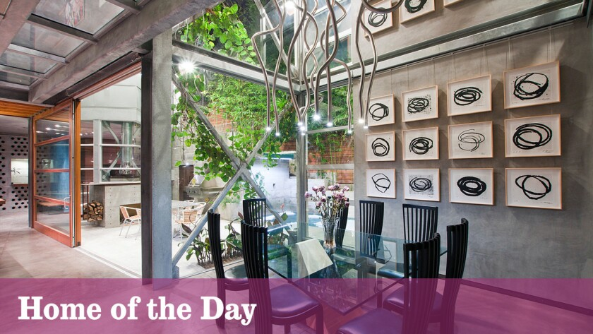 Home of the Day: Industrial notes in Santa Monica Canyon