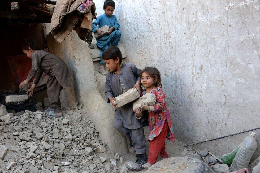 Afghanistan-Pakistan quake