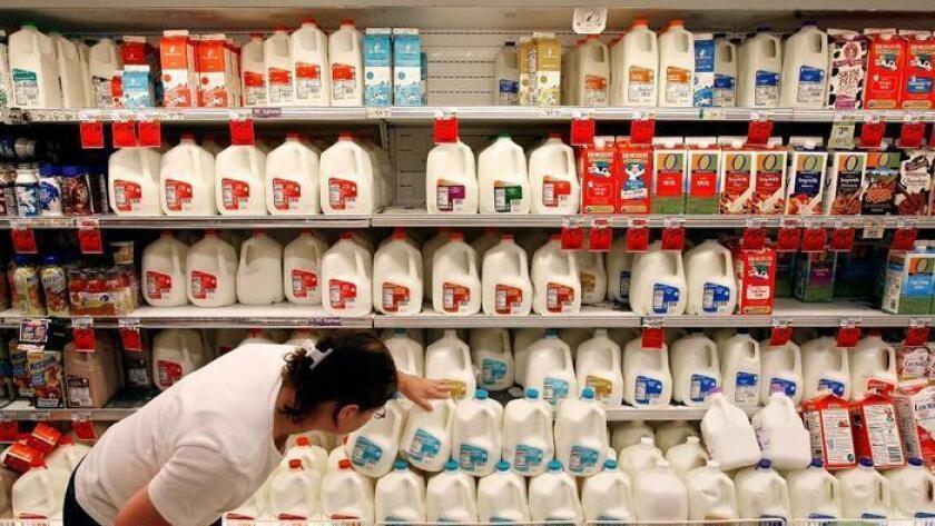 compradores de leche