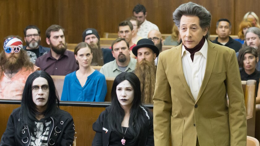 """Fred Armisen, left, Carrie Brownstein and Paul Reubens in """"Portlandia"""" on IFC."""