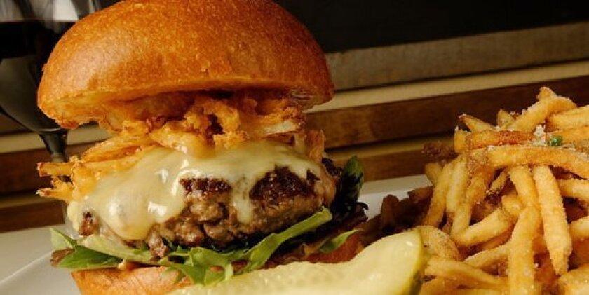 Burgers are a customer favorite at Zel's Del Mar.