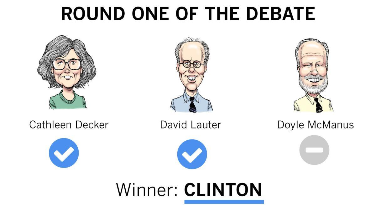 Second presidential debate updates: Hillary Clinton won