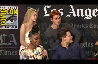 "The stars of ""Riverdale"" talk season 2 at Comic Con"