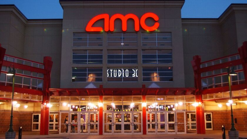 AMC's new service lets subscribers see up to three movies a week for a monthly fee of $19.95. Above, an AMC theater in Olathe, Kan.