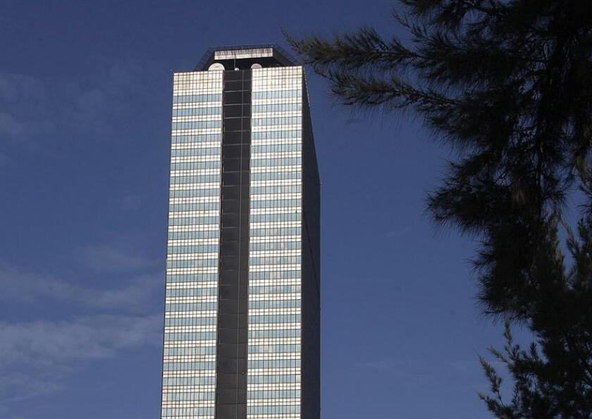 Vista de la torre corporativa de Petróleos Mexicanos (PEMEX) en Ciudad de México. EFE/Archivo