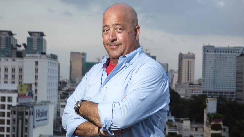 "Andrew Zimmern returns in another season of ""Bizarre Foods"" on the Travel Channel."