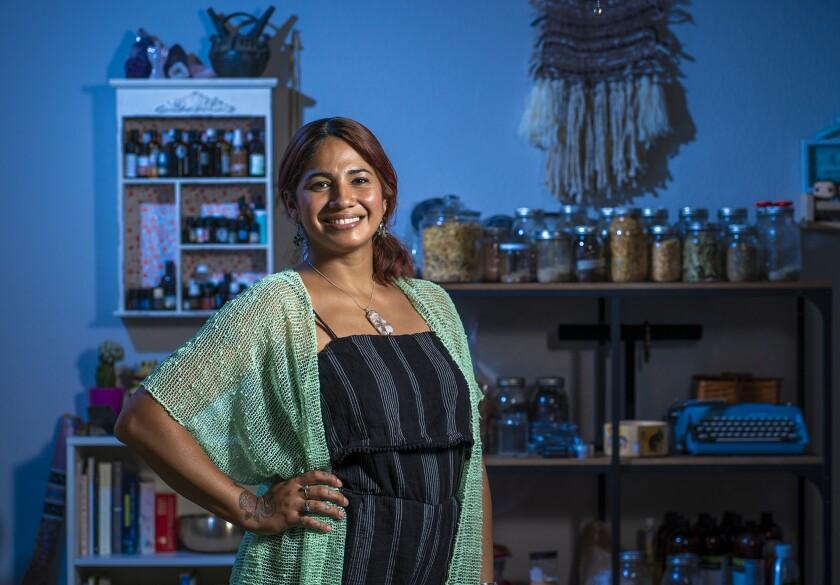 Silvana Zamara founded Sana Canna & Wellness, where she offers a variety of healing services.