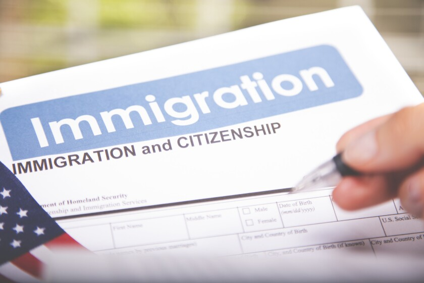 The law provides three exemptions from the English language requirement for naturalization.