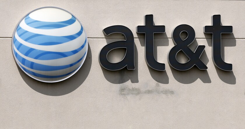 """AT&T is fined for $100 million for offering consumers """"unlimited"""" data, but then slowing their Internet speeds after they hit a certain amount."""