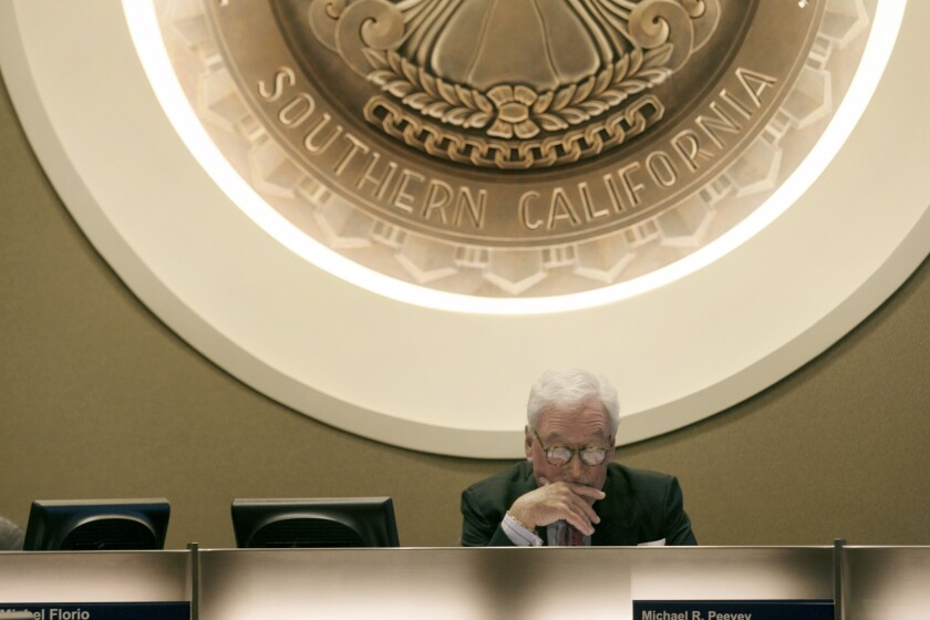 PUC President Michael R. Peevey: Is he too close to the people he regulates?
