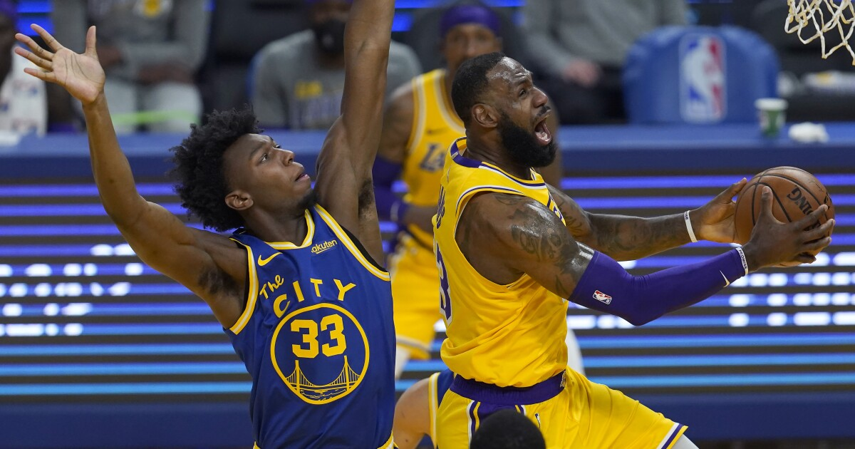 Lakers realize they must be warriors to beat Golden State, gain 7th seed