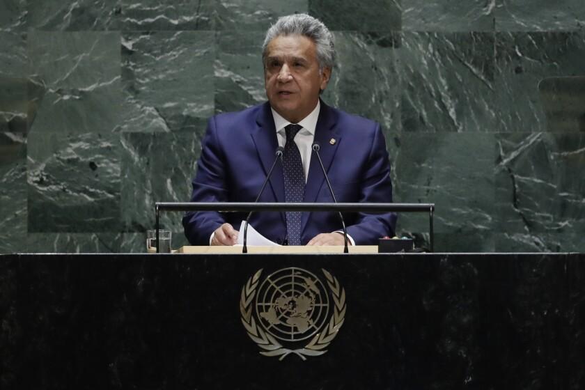 United Nations General Assembly Ecuador
