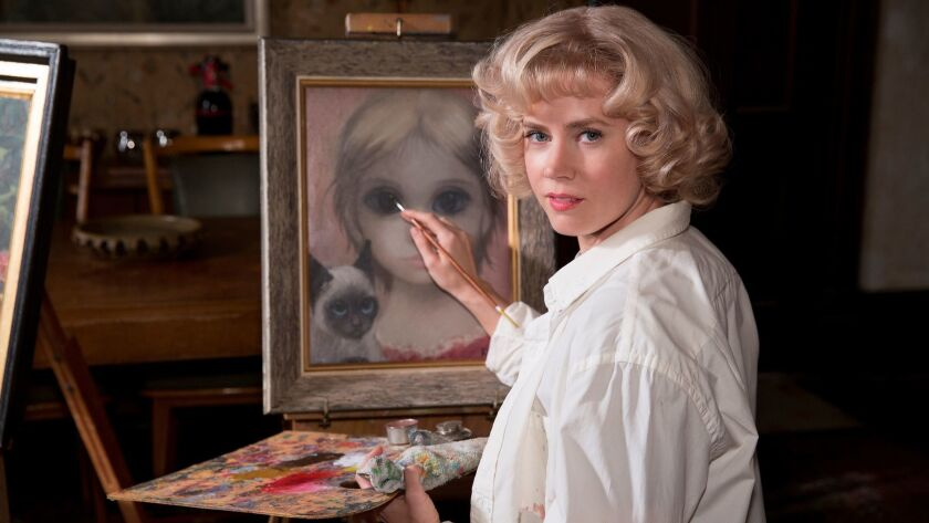 """Adams' big eyes make this """"Big Eyes"""" one of the must-see movie biographies of the year"""